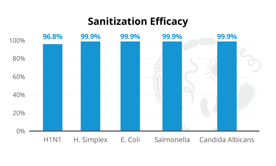 Sanitization Efficacy Graph